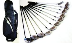~~ VerY RaRe St Andrew�s Kunnan GraphiTe GoLf SET