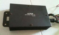 30 years old vintage Alpine Car Stereo Power Amp model