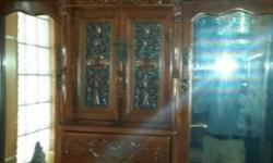 Vintage British cabinet consisting of 3 separate pieces