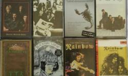 Original collectable playable tapes. Pop to rock songs,