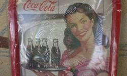 You are looking at a Vintage Coca Cola Tray.