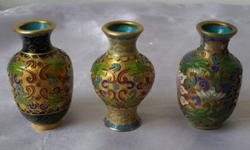 Miniature or mini vintage dynasty vase. Beautiful and