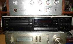 GOOD WORKING VINTAGE PIONEER CD PLAYER, CAN SLOT IN TWO