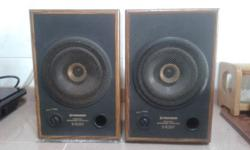 VINTAGE PIONEER FULLRANGE SPEAKERS BEST MATCHING WITH
