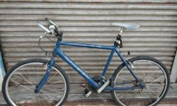 REAL MEN RIDE STEEL! This Raleigh bicycle is a fully