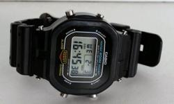 This vintage Casio G-Shock, model DW-5300 901, is in