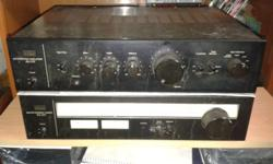 VINTAGE SANSUI AMPLIFIER WITH SOLID STATE QUALITY
