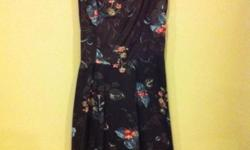 Vintage sundress with elasticised back (chest to