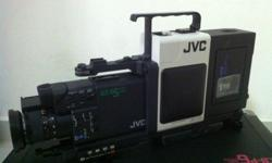 JVC old video cam for display.