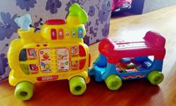Good Condition V-tech sit-to-stand Alphabet Train
