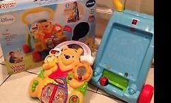 i am selling a almost new Vtech Winnie the Pooh Walker