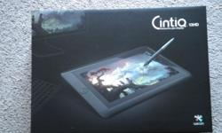 Selling my cintiq 13HD $1400 negotiable In good