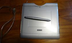 Have here a used Wacom Graphire Tablet with Stylus USB.