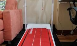 Motorized Exercise Treadmill with floor mat, Condition: