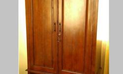 High-end wardrobe for sale. Made of solid teak wood. 2