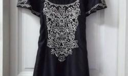 Beautifully Embroidered Dress from WAREHOUSE. Size UK 6