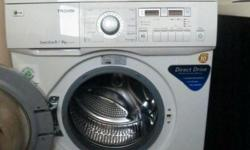 Used. Good condition. 5 yrs old. Washer + Dryer. LG.