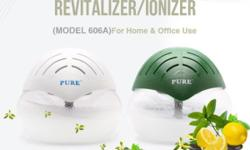 An unique water air purifying/revitalizing system which