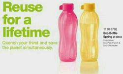 brand new tupperware BPA free bottle with life time