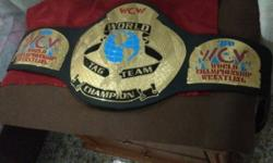 Pls Note This is the wcw invasion version belt logo is