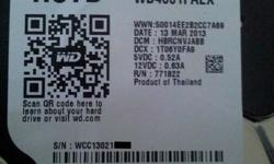 Hi all, I'm selling a WD 4TB Black hdd  - Local