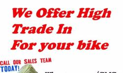 We are offering high Trade In Price when you buy a new