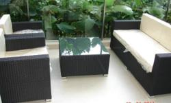 Weatherproof garden furniture, patio furniture,