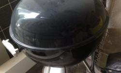 This is a coal BBQ grill in a used good condition.