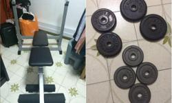 WTS: Weigh Bench / Weights (Condition 9/10) - bench