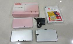 """Jailbroken"" Nintendo 3DS XL, Pink Edition In good"