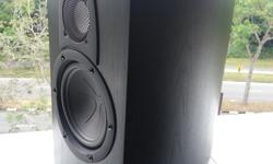 it is a bookshelf speaker, 3 way designed. self collect
