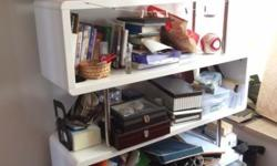 Lightly used designer book shelf in good condition,