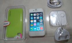 iPhone 4 8GB, White color. Phone is in perfect working