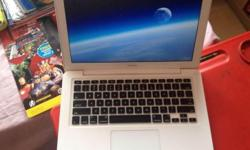 Selling my white macbook which is very good for serving