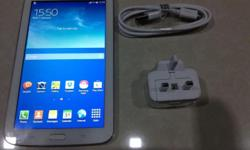White Samung Galaxy Tab 3, 8GB, 4G LTE (Able to make
