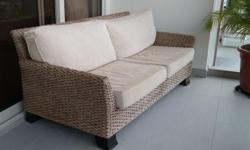 Wicker Furniture Set, bought from Natural Living