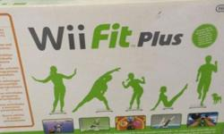 Brand new Wii fit plus never use before still in its