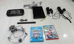 Excellent condition Wii U console, 32 GB Game pad 2x