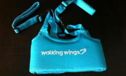 Blue colour wing walk to assist your little in their