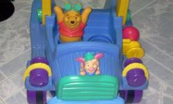 Winnie The Pooh Walker. Figures pop up & down. Ideal