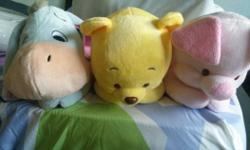 WTS, winnie the pool., eeyor, piglet plush toy