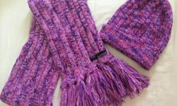 Matching Coldwear Scarf and Beanie, used 1 time only.