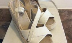 New Witchery wedges in beige. Size 36. Comes with shoe