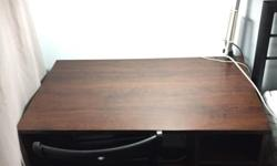 Wood desk in excellent condition for only $30. Need to