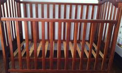 Preloved baby cot / crib / toddler bed WAS $369 from
