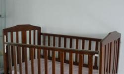 Very Rarely used Baby Wooden Crib. Can be used until