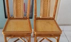 New wooden chairs for kids