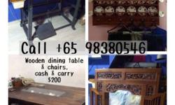 Cash & carry wooden furniture Dining tables & chairs