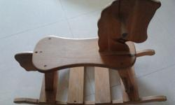 Good quality craftmanship of rocking chair and rocking