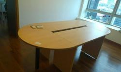 This is a wooden study table for use. Very suitable for